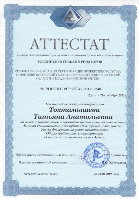 аттетат Тохтамышева